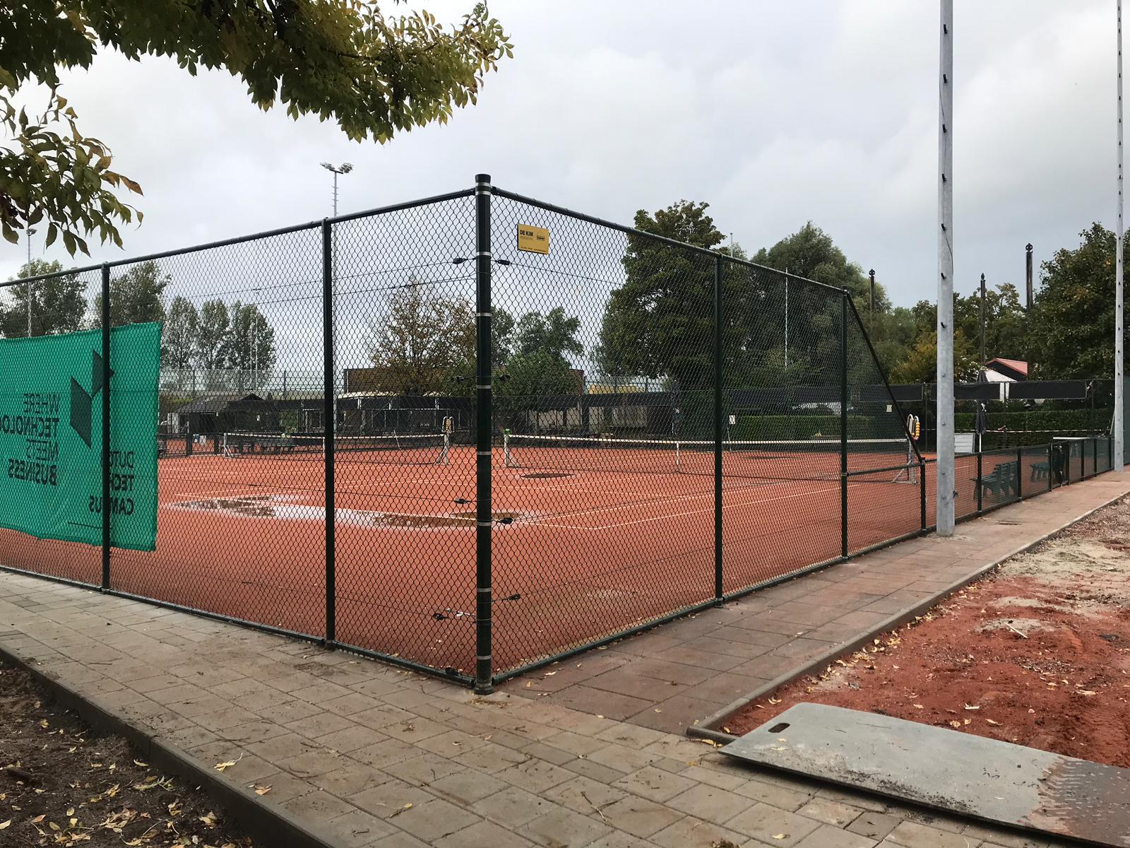 Tennishekwerk